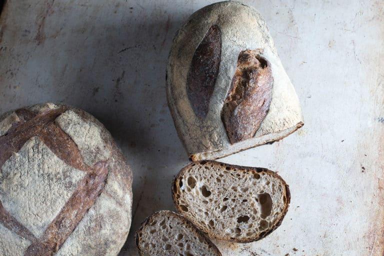 artisan bread artsy shot for Avenue Bread Bellingham