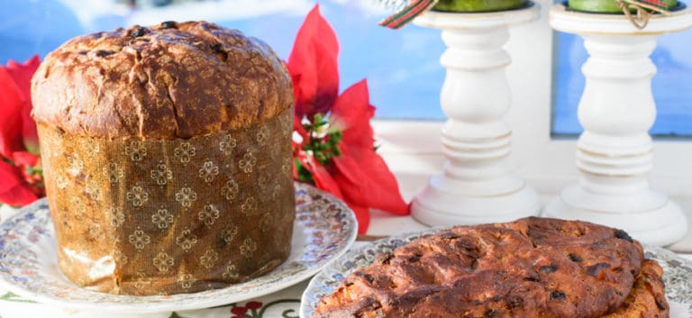 Panettone and Stollen Christmas breads from Avenue Bread