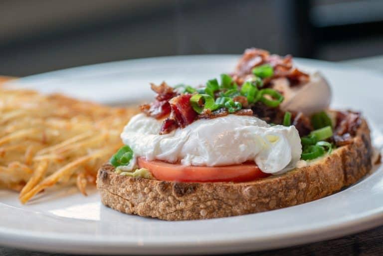Egg breakfast concoction from Avenue Bread Lynden